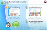 Touch Typing Intro & Simulator